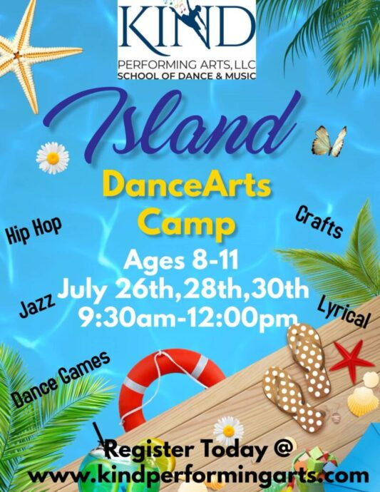Island DanceArts Camp